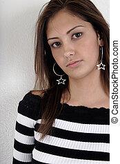 fashionable girl - Cute fashionable girl