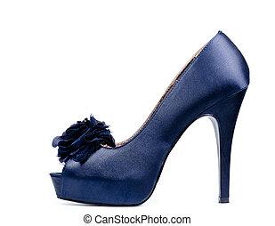 Fashionable high heeled lady's shoe