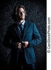 fashionable man