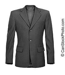 fashionable men's jacket isolated on white background