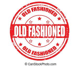 fashioned-stamp, viejo