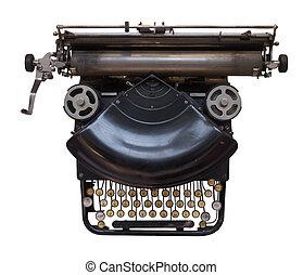 fashioned velho, máquina escrever