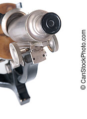 fashioned velho, microscópio