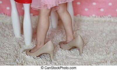 fashionista., glamour., 구두, 어머니, beauty., fashion., 아기, 성인 ...