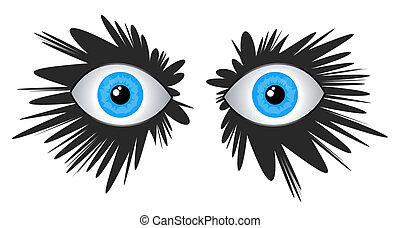 Fashon eyes - Creative design of fashion eyes