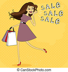 Fasion sale girl