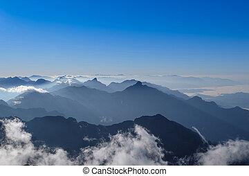 Fasipan mountain in morning