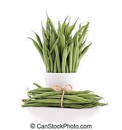 fasola, zielony
