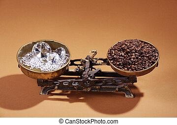 fasole kawy, dzwonek