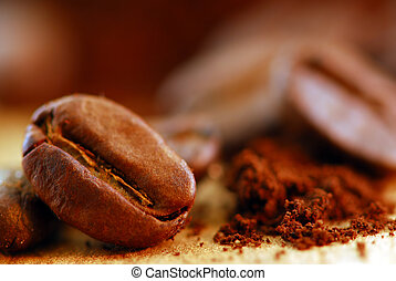 fasole kawy, gruntowy
