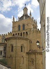 fassade, kathedrale, altes , östlich