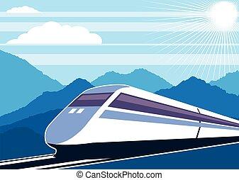 fast, 기차