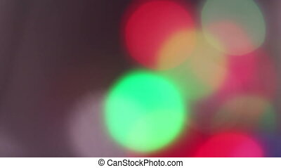 fast bokeh movie, abstract background