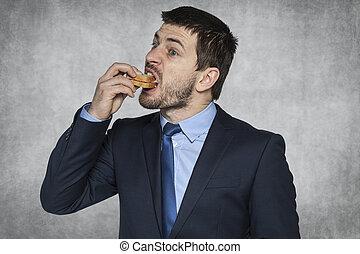 fast break for a sandwich