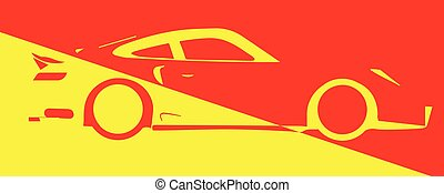 Fast Car Abstract