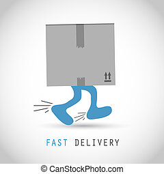 Fast delivery box