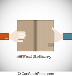 Fast delivery courier