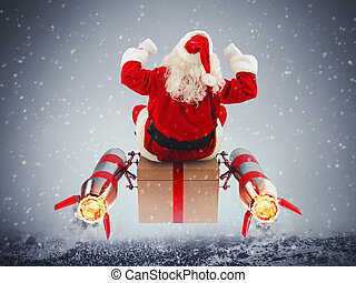 Fast delivery of Christmas gifts