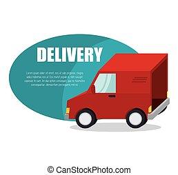 fast delivery service icon