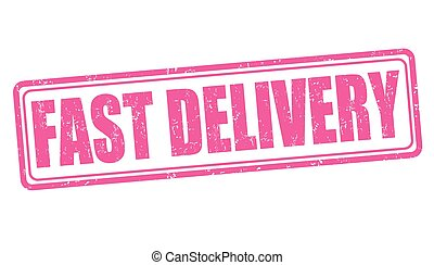 Fast delivery stamp