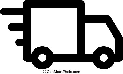fast delivery truck