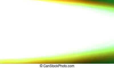 Fast flashing futuristic LED glow lights