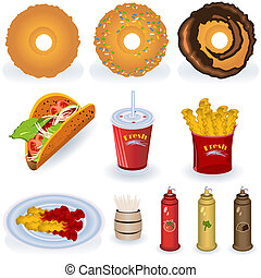 fast food collection 3