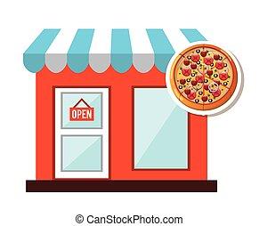 fast food commerce design, vector illustration eps10 graphic...