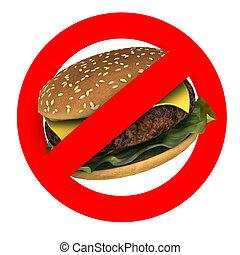 fast food danger concepts