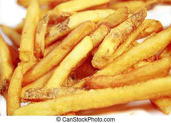 fast food - deep fried potatoes