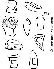 Fast food elements