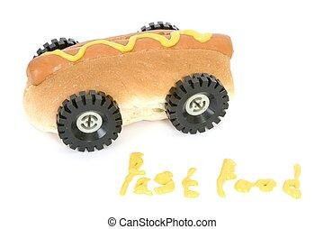 Fast food Hot dog