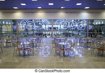 fast food interior