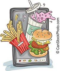 Fast Food Mobile Order