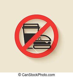 fast food no sign