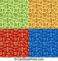 fast food patterns