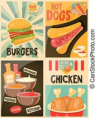 Food posters collection