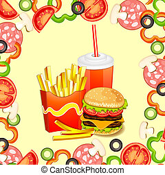 Fast food products.