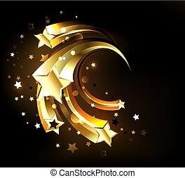 Fast golden stars
