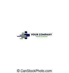 Fast Medical Logo Design Vector