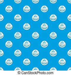 Fast money button pattern seamless blue