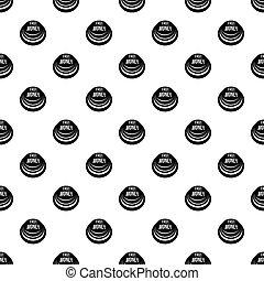 Fast money button pattern seamless