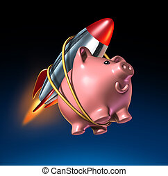 Fast Money - Fast money and higher savings account piggy...