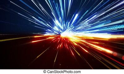 fast motion blur on road loop - fast motion blur on road....