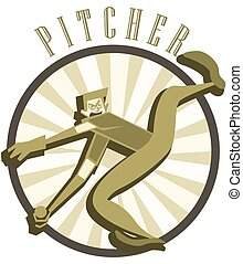 Fast Pitcher