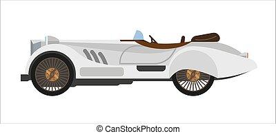 Fast retro cabriolet