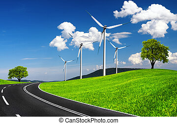 Fast road to ecological environment