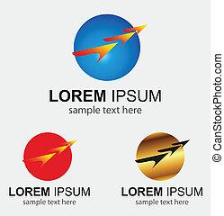 Fast speed symbol move Concept
