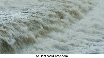 fast stream waterfall - waterfall fast stream with sound