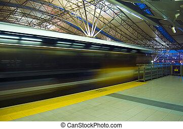 Fast train.